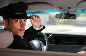 Limousine chauffeurs and car service drivers
