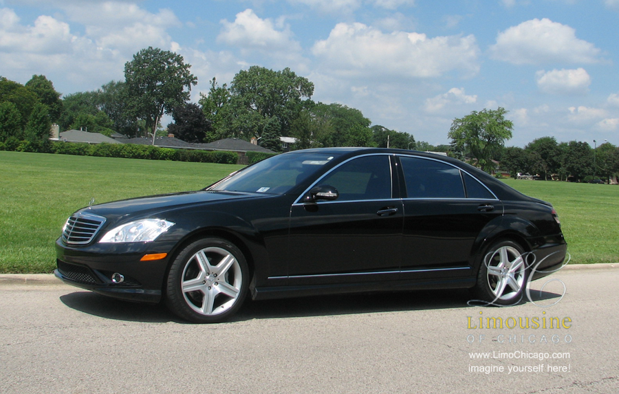 Chicago Limousine service with Mercedes Benz s550
