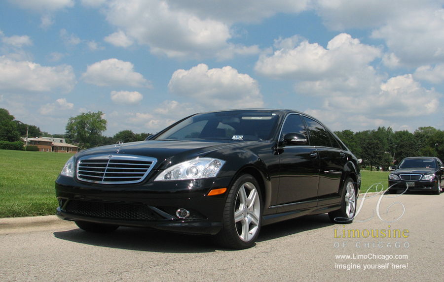 Mercedes Benz s550 limousine black by color, stylish by nature