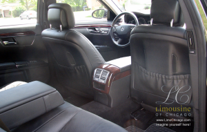 Mercedes Benz s550 interior limo