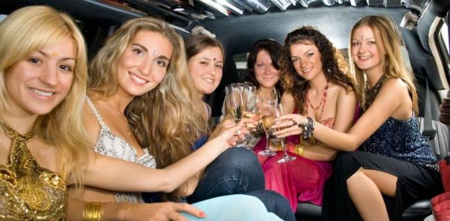 bachelorette limousine party