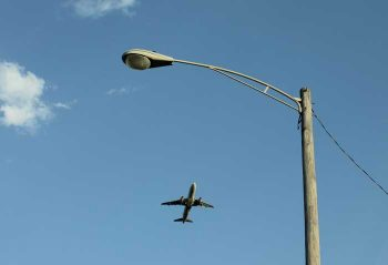 low flying aircraft chicago ohare airport