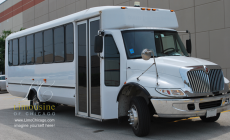 party bus limousine for 30 passengers